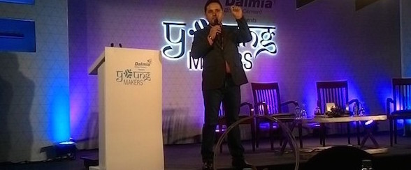 Amish Tripathi taking us back to the tales of the past. #YoungMakers