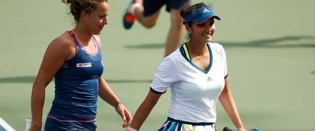 Sania Mirza Barbara out of US Open