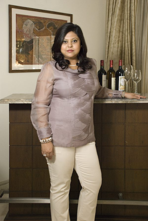 Sonal Holland, the first Indian to be titled Master of Wine.