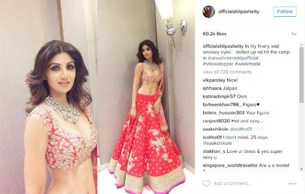 Shilpa Shetty Kundra will be sharing the secret to a flat stomach on My Diet Coach app (Image Credit: Instagram)