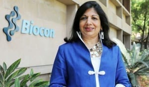 Kiran Mazumdar Shaw to be honoured 'Knight of Legion of Honour' by France