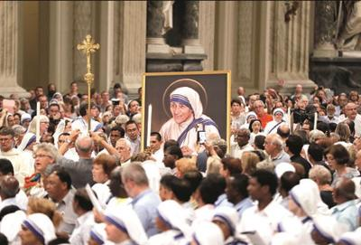 Canonisation of Mother Teresa At Vatican - Picture by Neha Dhingra, SheThePeople