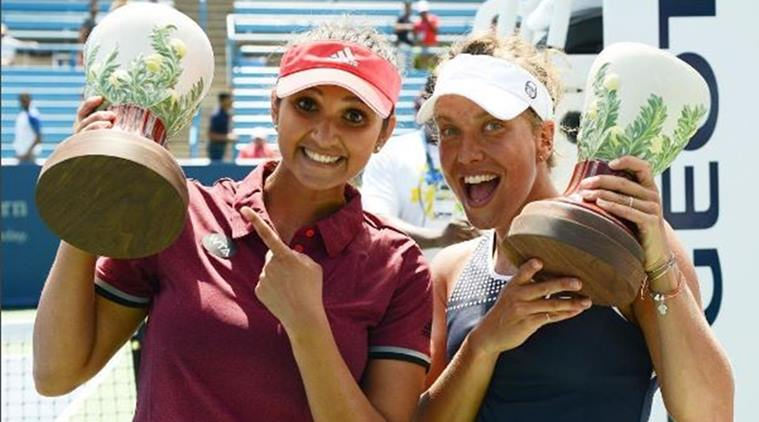 Sania Mirza and Barbora Strycova won their first match in the US Open
