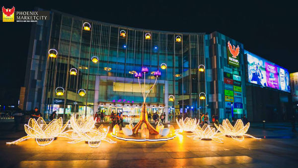 Phoenix MarketCity Bangalore in Diwali