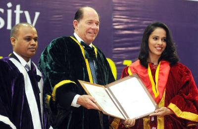 Saina Nehwal gets honorary doctorate