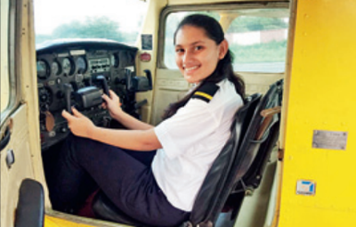 Varija Shah At 16 Baroda Girl Gets Flying Licence