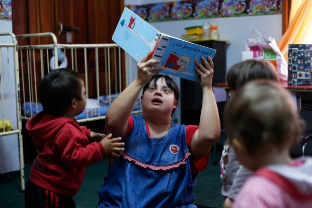 Argentine Woman with Donw's Syndrome becomes Nursery Teacher