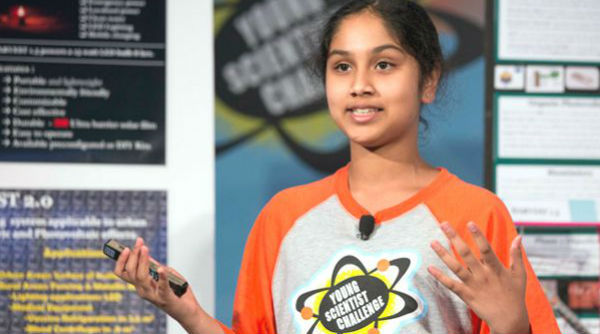 Maanasa Mendu - 'America's Top Young Scientist'