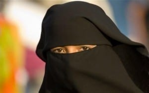 First woman fined full veil Denmark