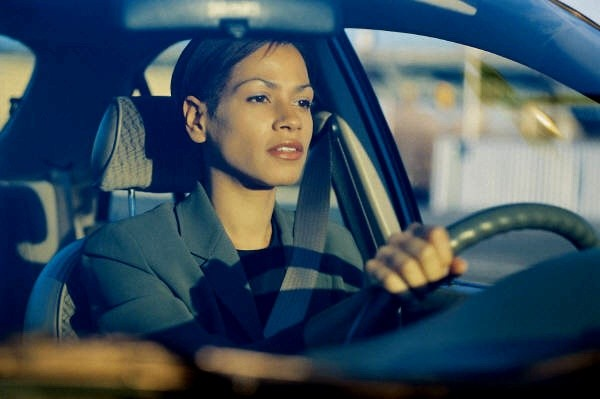 Women Driving To Work
