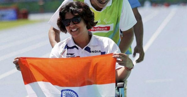 Deepa Malik wins Gold World Para Athletics Grand Prix