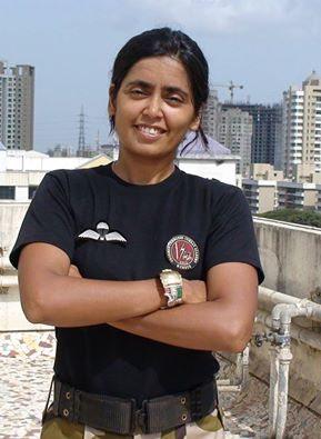 India's first female commando trainer, Seema Rao, teaches self defense to women
