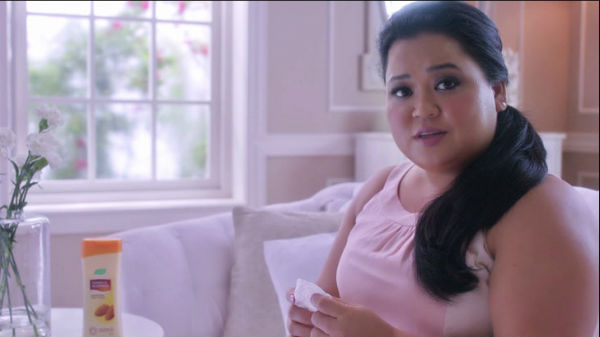Comedian Bharti Singh features in beauty cream ad