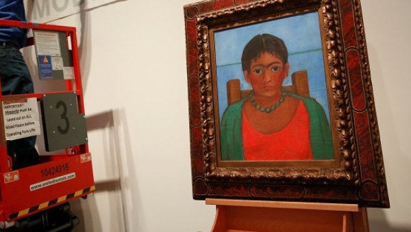 Lost Frida Kahlo painting