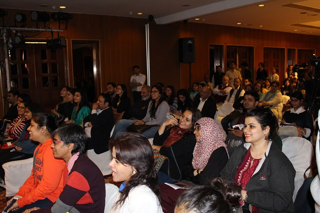 Crowd at Future is Female session at Toi Lit Fest 2016