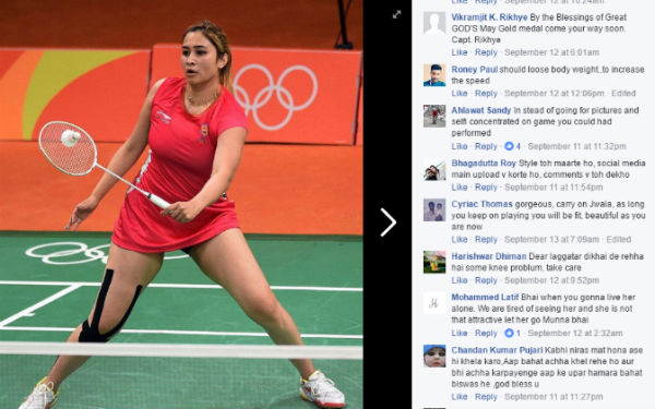 jwala gutta on cyber harassment