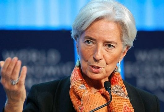 Christine Lagarde resigns