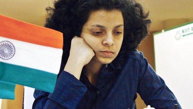 Padmini scores a hat-trick in National Women Premier Chess