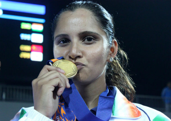 Sania Mirza has six Gold medals