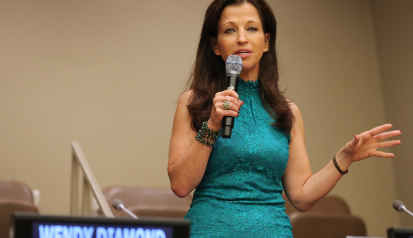 The founder and CEO of Women's Entrepreneurship Day, Wendy Diamond. Photo Credits: Getty Images