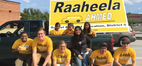 Raaheela Ahmed, A Young Indian-Origin Muslim Wins Local Election In US