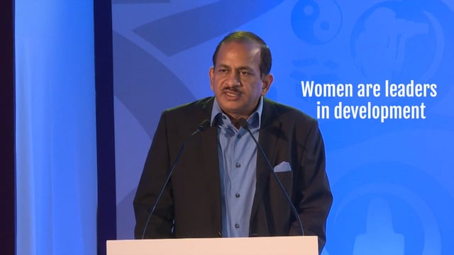 Ramesh Abhishek promises women entrepreneurs bigger government support