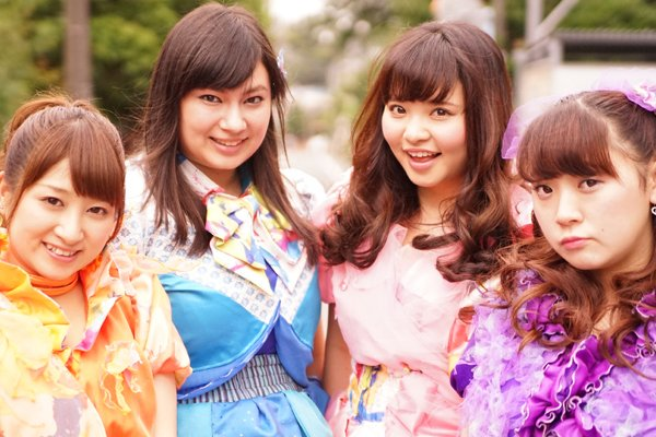 Pottya japanese pop band 1