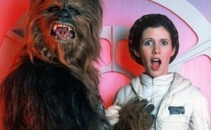 Carrie Fisher's General Leia