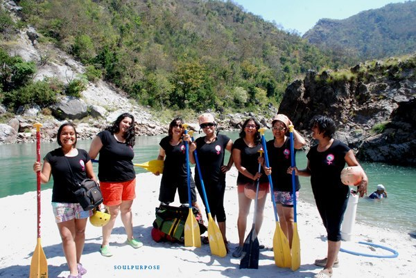 Soul Purpose Travels River rafting