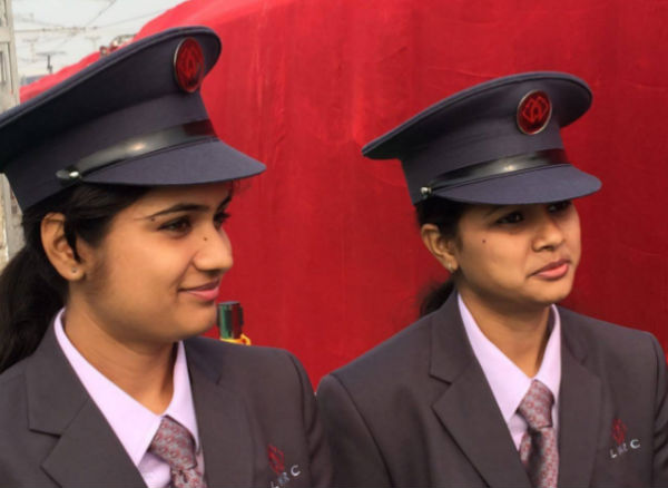 Women pilot Lucknow's first Metro run