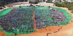 Warangal cops set world record in biggest self-defence class