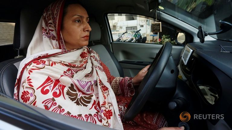 Cab Company Introduces Women Drivers in Pakistan