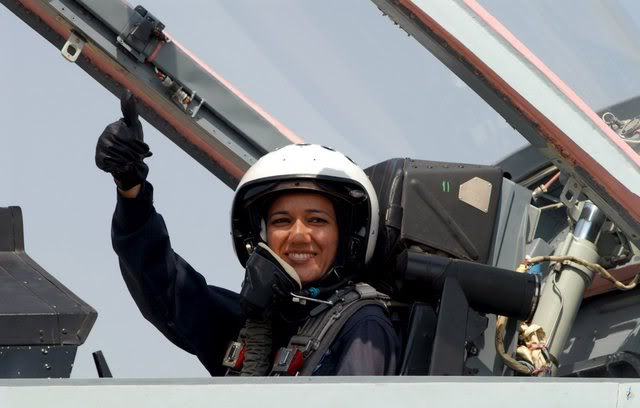 woman pilot in IAF