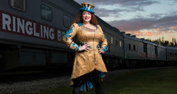 first Female Ringmaster in The Ringling Bros. Circus