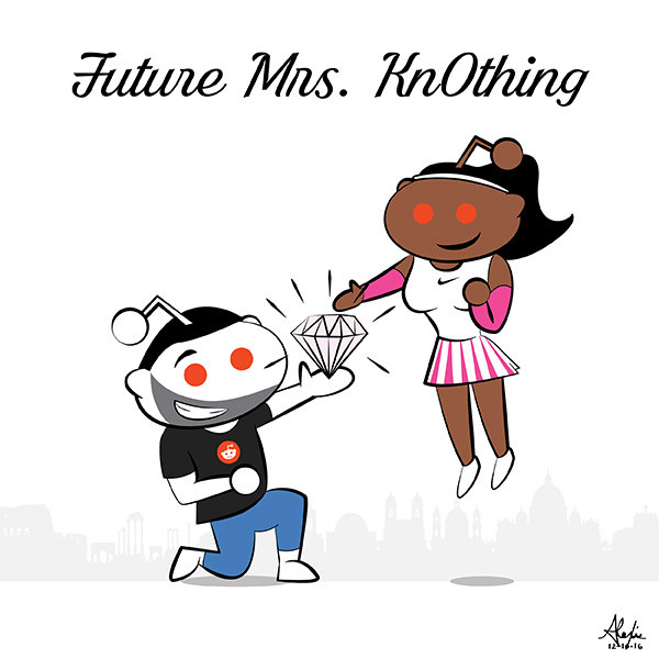 Serena Williams Is Engaged to Reddit Co-Founder Alexis Ohanian (Pic by Red)dit