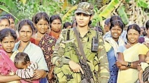 Usha Kiran - Bastar's first woman CRPF officer in the Maoist hotbed