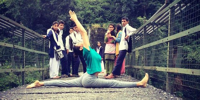 Diksha Lalwani Yoga teacher