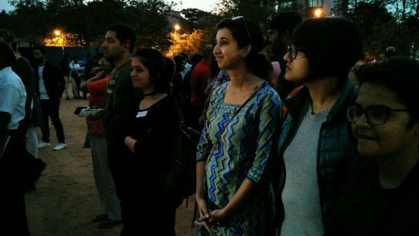 #IWillGoOut campaign Bangalore