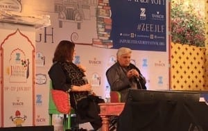 Javed Akhtar at JLF