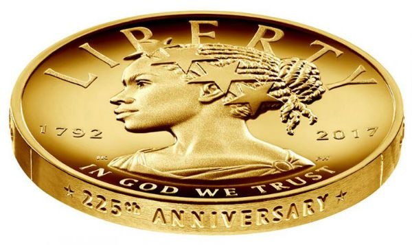 For the first time, U.S. coin to show Liberty as a black woman