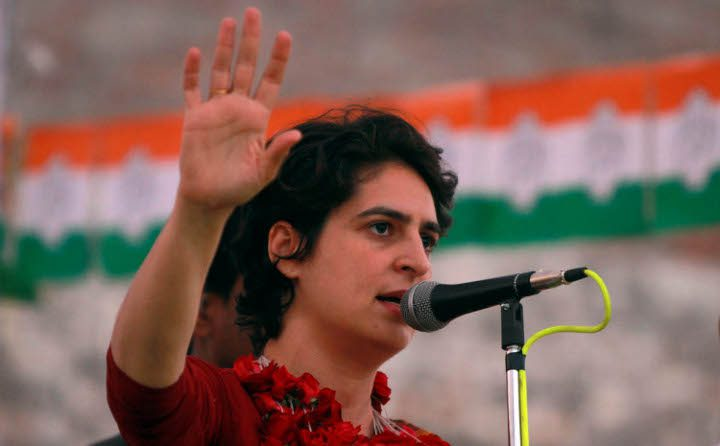 Priyanka Gandhi Crimes Women