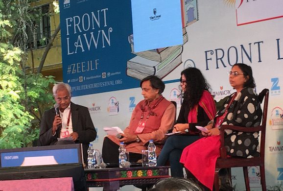 Shashi Tharoor at JLF