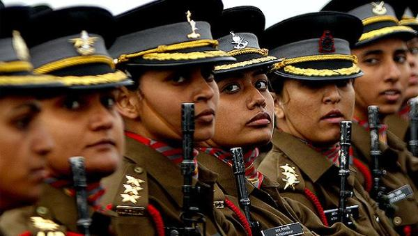 Indian women in army