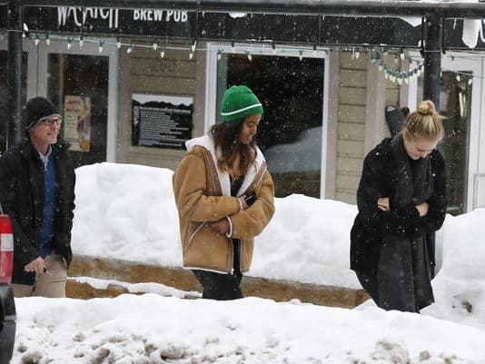 Malia Obama at Sundance Film Festival