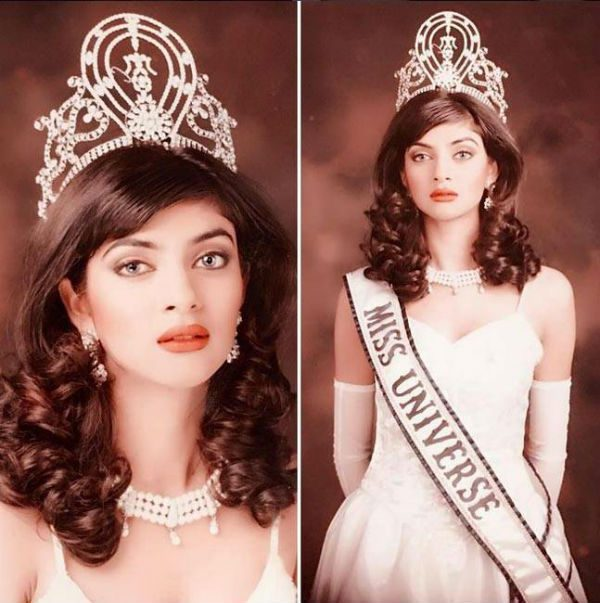 Sushmita won the coveted crown in 1994.