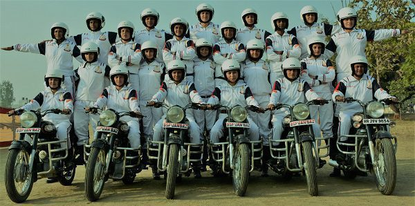 BSF's women bikers