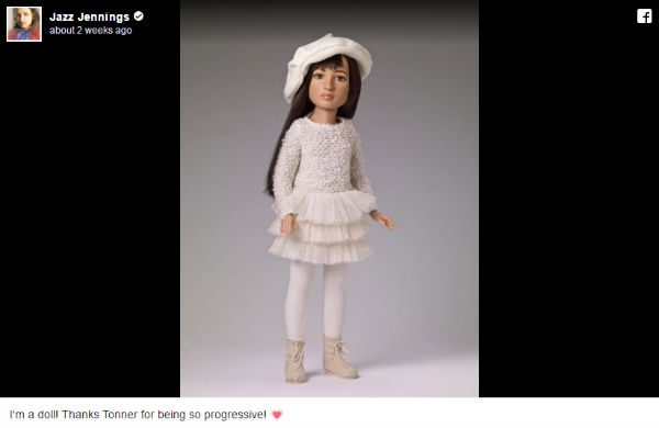 World's first transgender doll based on US teen Jazz Jennings launched in New York