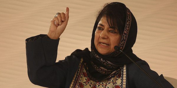 Mehbooba Mufti resigns