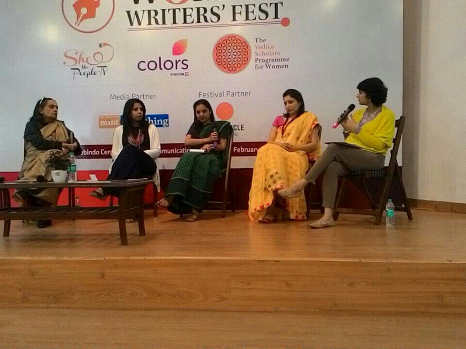 Sexual Harrasment at workplace session at the Women Writers' Festival