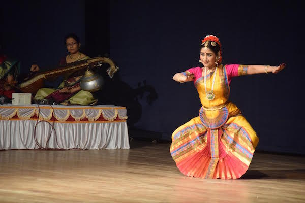 Sujatha Ramanathan at her dance performance
